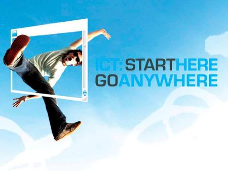Splash page. 2009 National ICT Careers Week 27 July – 1 August 2009 Start Here Go Anywhere.