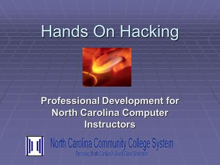 Professional Development for North Carolina Computer Instructors