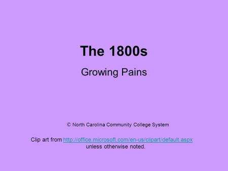The 1800s Growing Pains Clip art from   unless.