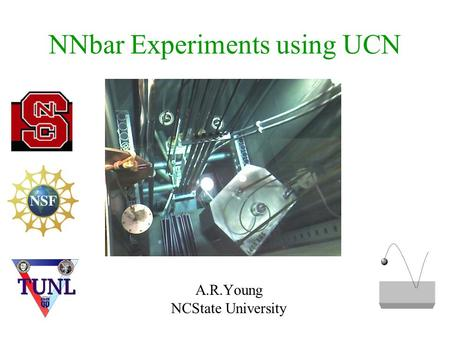 NNbar Experiments using UCN A.R.Young NCState University.