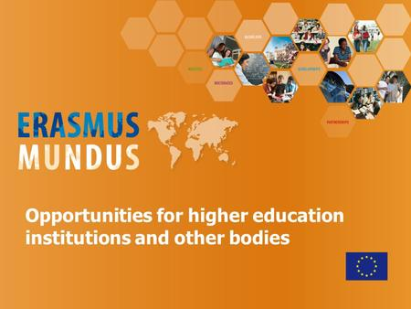 Opportunities for higher education institutions and other bodies.