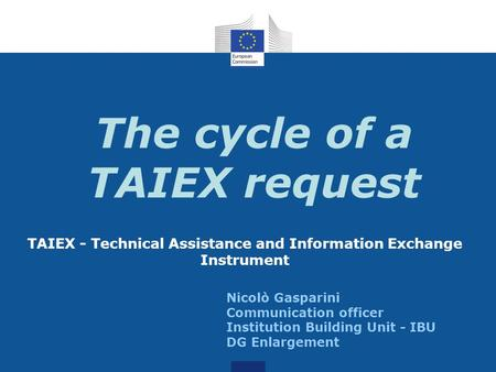 The cycle of a TAIEX request