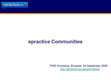 OPTIRAIL WORKSHOP · OCTOBER 23, 2014 · BRUSSELS PROJECT ...