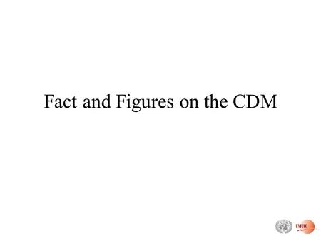 Fact and Figures on the CDM. Status of registration Status: 16 Nov. 2005 For only 8 cases the Board undertook review: 6 were registered after corrections.