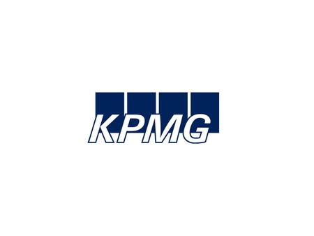 © 2003 KPMG Taxes E-taxation: Opportunities for multinational enterprises Status and issues Geneva, 6 June 2003 Reiner Denner, Tax Partner Gilles Ronchi,