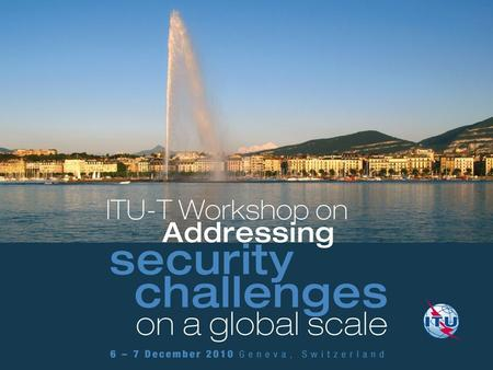 ITU-T activity in ICT security