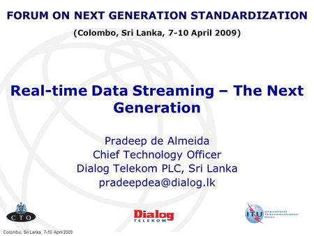 Real-time Data Streaming – The Next <strong>Generation</strong>