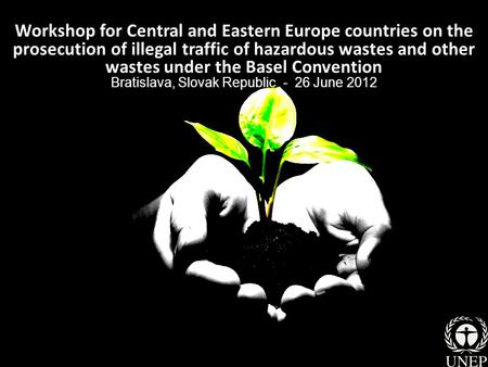 Workshop for Central and Eastern Europe countries on the prosecution of illegal traffic of hazardous wastes and other wastes under the Basel Convention.