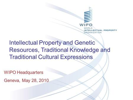 intellectual property rights and traditional knowledge He has a personal and professional interest in the protection of aboriginal  intellectual property rights, particularly traditional knowledge he has negotiated  treaty.