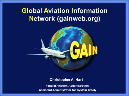 Global Aviation Information Network (gainweb.org)