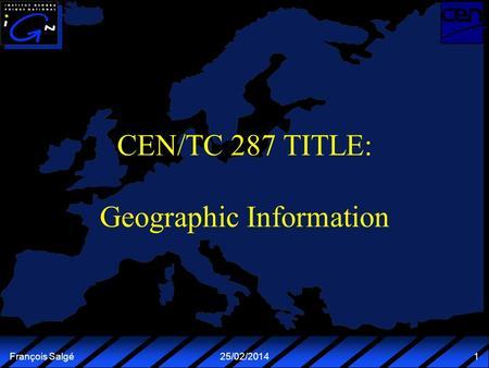 Converging from national to international standards NVDB Copenhagen 2002-02-27 IEC/JTC1/ SC21 SQL/MM TC 287 8859-1 8859-10 8601 SOSI GeoGrowth TC 278 Terminology.