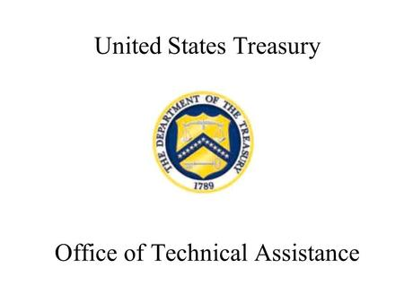 United States Treasury Office of Technical Assistance