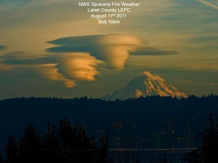 NWS Spokane Fire Weather