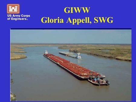 GIWW Gloria Appell, SWG. St. Marks, FL to Brownsville, TX.