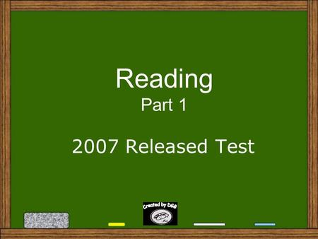 Reading Part 1 2007 Released Test 1. In paragraph 1, what does the word disruptive mean? A. A. forgettable B. B. surprising C. C. troublesome D. D. senseless.