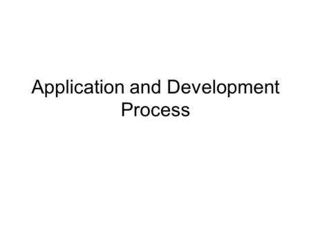 Application and Development Process. Getting Ready Technical assistance is available from the Multi-family Production Unit Contact David Danenfelzer 512-475-3865.
