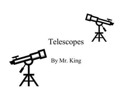 Telescopes By Mr. King. Tube Stand Tube Stand eyepiece.