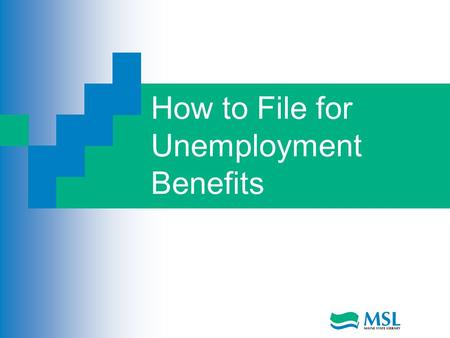How to File for Unemployment Benefits. How to File Unemployment Benefits  Telephone Mail 2.