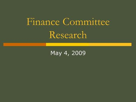 Finance Committee Research May 4, 2009. CMS description of waivers 1115 Research and Demonstration Projects This section provides the Secretary of Health.