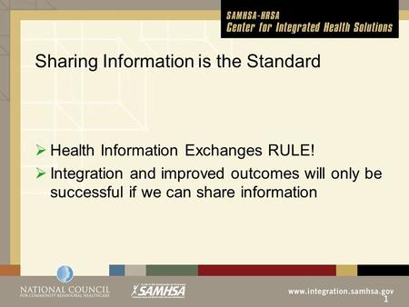 Using HIT to Support Integrated Care Michael R. Lardiere, LCSW Vice President, Health Information Technology & Strategic Development.