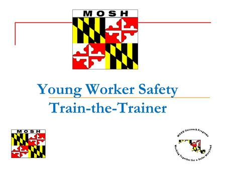 Young Worker Safety Train-the-Trainer. Objectives Introductions Your Views on the Young Worker The Young Worker Safety Resource Center: Understanding.