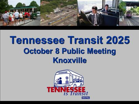 Tennessee Transit 2025 October 8 Public Meeting Knoxville.