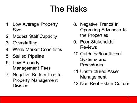 Www.vivaconsult.com Risks and Opportunities in Asset Management Today September 24, 2010 Vermont Housing & Conservation Board.