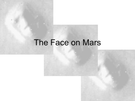 The Face on Mars. Hoagland – one of the proponents of the Face as well as a city on the moon, and hyperdimensional vortices on planets.