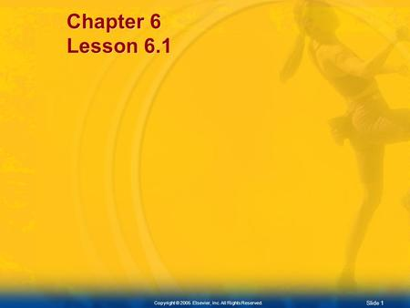 Chapter 6 Lesson 6.1.