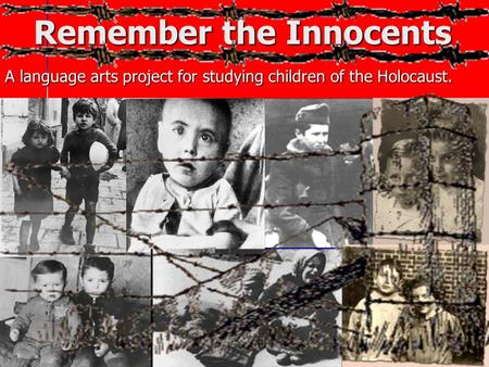 Remember the Innocents