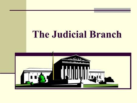 The Judicial Branch. Origins of the Supreme Court Constitutional Origin. Article III, §1, of the Constitution provides that [t]he judi-cial Power of the.