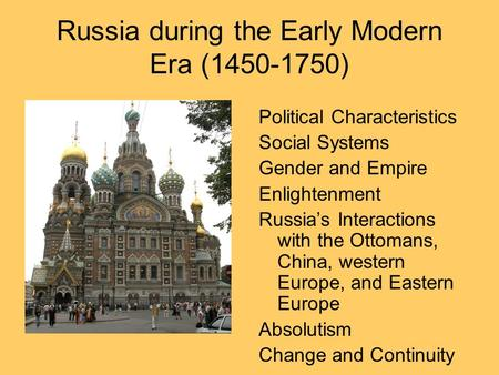 European History/Scientific Revolution and Enlightenment