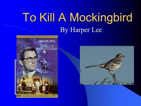 to kill a mockingbird looking beyond appearance Worlds beyond the movie industry have also taken appearance cunningham' s tors in to kill a mockingbird— tom.