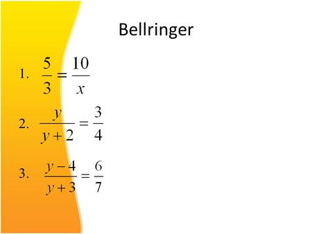 Bellringer 1. 2. 3.. Chapter 5 Section 2 Relations and Functions Woohoo!!!