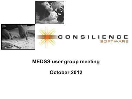 MEDSS user group meeting October 2012. Agenda Follow-up questions from last time (15 min) Maven configurability (15 min) ELR and De-duplication, overview.