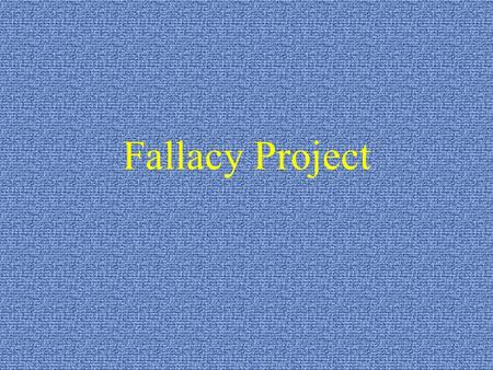 Fallacy Project. Appeal to A non-rational persuasion designed to invoke fear by threatening the safety or happiness of ourselves or someone we love; often.