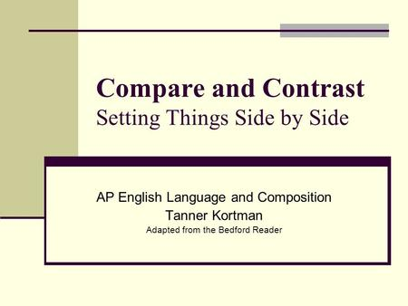 ap english language and composition analysis essay