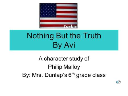 Nothing but the truth avi study guide