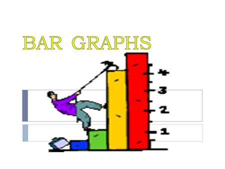 What is a bar graph? A bar graph is a graphical way of showing comparisons by using rectangular shapes with lengths proportional to the measure of what.