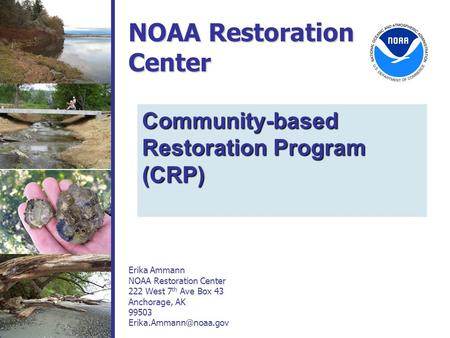 NOAA Restoration Center