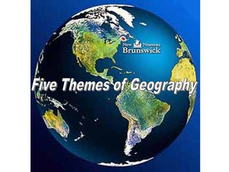 Why do we study Geography? How does it relate to World History events? What can we learn about a place given its geographic data? What is a demography?