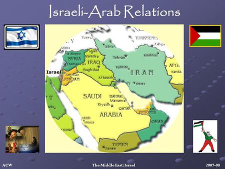 Israeli-Arab Relations ACW The Middle East: Israel 2007-08.