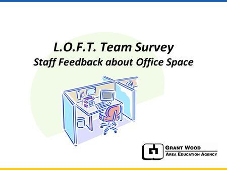 L.O.F.T. Team Survey Staff Feedback about Office Space.