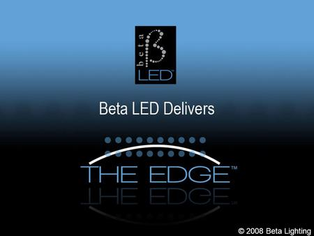 #title# © 2008 Beta Lighting. #title# Who is Beta - Kramer Beta-Kramer is a Ruud Lighting Company Incorporated in 1982 Largest Privately Held Lighting.