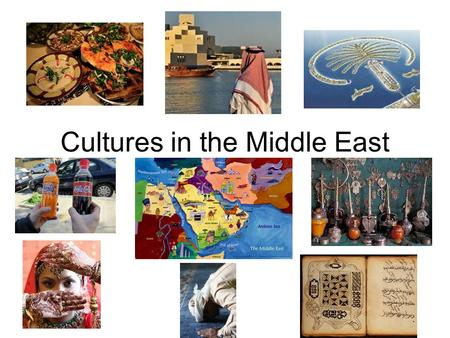 Cultures in the Middle East. Guiding Question Why should we learn about the Middle East?