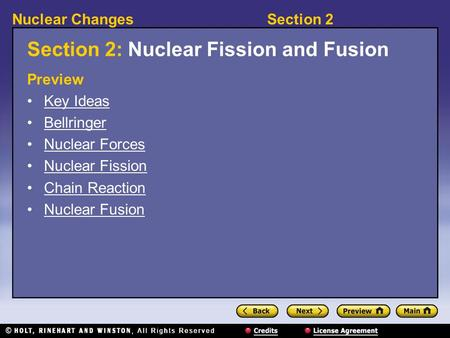 Fission and Fusion Nuclear Reactions