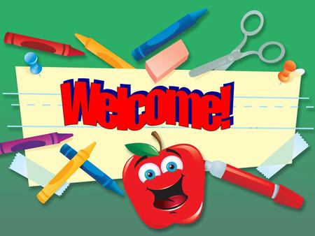 Welcome parents and students to the 2011-2012 third grade year. We always look forward to each year with anticipation and excitement. We hope that the.