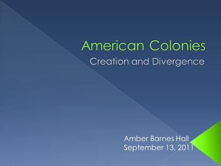 Amber Barnes Hall September 13, 2011. 1. Financial opportunities 2. Religious expression 3. Fulfill labor needs.