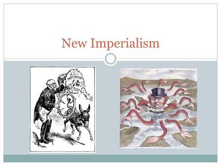 New Imperialism. Colonialism A policy of politically dominating a dependent territory or people. Developed for settlement or commercial intentions.