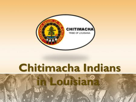 Chitimacha Indians in Louisiana